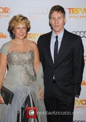 Yeardley Smith and Dustin Lance Black,  at The Trevor Project's 2011 Trevor Live! at The Hollywood Palladium. Los Angeles,...