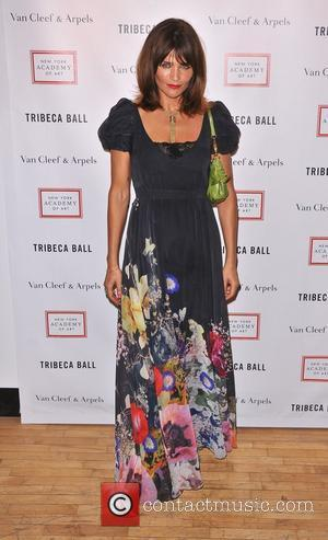 Helena Christensen Tribeca Ball 2012 at New York Academy of Art New York City, USA - 16.04.12
