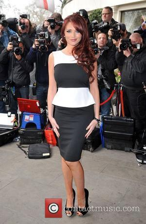 Amy Childs The TRIC Awards held at the Grosvenor House - Arrivals. London, England - 13.03.12