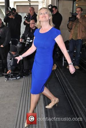 Carol Kirkwood The TRIC Awards held at the Grosvenor House - Arrivals. London, England - 13.03.12