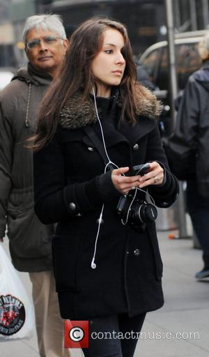 Troian Bellisario  leaving her Manhattan Hotel New York City, USA - 16.03.12