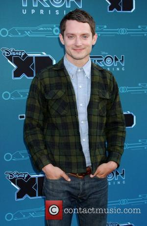 Elijah Wood Disney XD's 'TRON: Uprising' Press Event and Reception at DisneyToon Studios  Los Angeles, California - 12.05.12