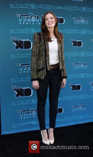 Mandy Moore Disney XD's 'TRON: Uprising' Press Event and Reception at DisneyToon Studios  Los Angeles, California - 12.05.12