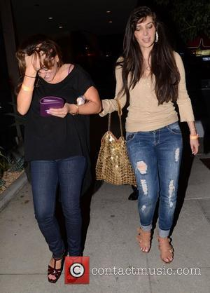 Brittny Gastineau leaves Trousdale Lounge in West Hollywood looking a little worse for wear Los Angeles, California - 17.08.12