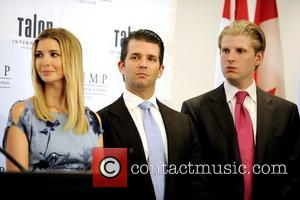 Ivanka Trump, Donald Trump Jr and Eric Trump