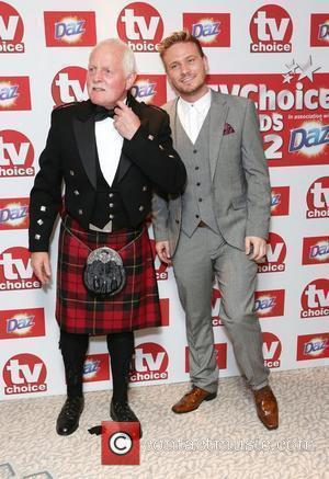 Chris Chittell and Matthew Wolfenden The TVChoice Awards 2012 held at the Dorchester hotel - Arrivals London, England - 10.09.12