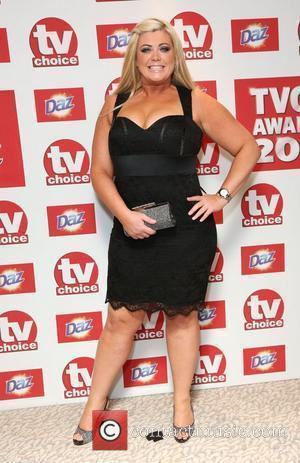 Gemma Collins The TVChoice Awards 2012 held at the Dorchester hotel - Arrivals London, England - 10.09.12