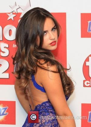 Georgia May Foote The TVChoice Awards 2012 held at the Dorchester hotel - Arrivals London, England - 10.09.12