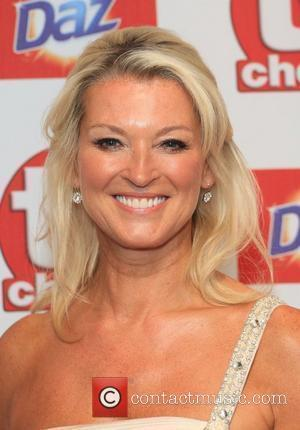 Gillian Taylforth The TVChoice Awards 2012 held at the Dorchester hotel - Arrivals London, England - 10.09.12