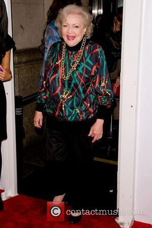 Betty White  TV Land holiday premiere party for 'Hot in Cleveland' & 'The Exes' at SD26 - Arrivals New...