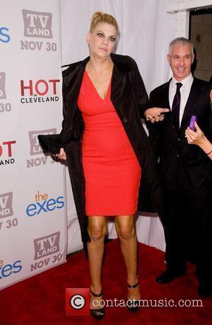 Kristen Johnston TV Land holiday premiere party for 'Hot in Cleveland' & 'The Exes' at SD26 - Arrivals New York...