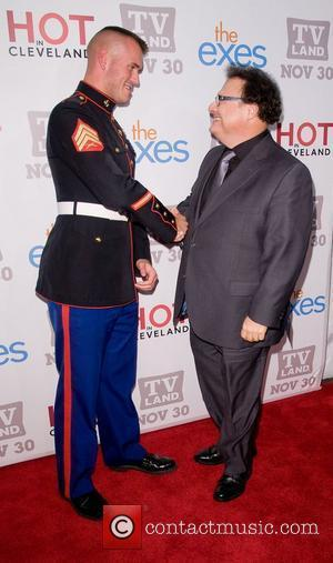Wayne Knight and Staff Sgt Eric Worth TV Land holiday premiere party for 'Hot in Cleveland' & 'The Exes' at...