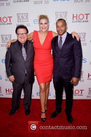Wayne Knight, Kristen Johnston and Donald Faison TV Land holiday premiere party for 'Hot in Cleveland' & 'The Exes' at...