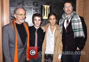 Ron Rifkin, Noah Robbins, Sarah Jessica Parker and Jon Robin Baitz at the premiere after party for 'The Twenty-Seventh Man'...