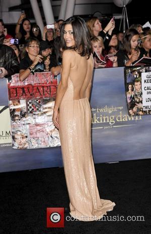 Julia Jones  The premiere of 'The Twilight Saga: Breaking Dawn - Part 2' at Nokia Theatre L.A. Live Los...
