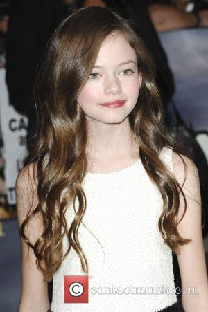 Mackenzie Foy  The premiere of 'The Twilight Saga: Breaking Dawn - Part 2' at Nokia Theatre L.A. Live Los...