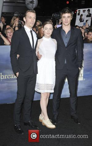 Max Irons, Saoirse Ronan, Jake Abel  The premiere of 'The Twilight Saga: Breaking Dawn - Part 2' at Nokia...
