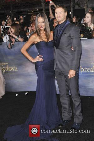 Sharni Vinson, Kellan Lutz  The premiere of 'The Twilight Saga: Breaking Dawn - Part 2' at Nokia Theatre L.A....