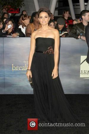 Mia Maestro The premiere of 'The Twilight Saga: Breaking Dawn - Part 2' at Nokia Theatre L.A. Live  Los...