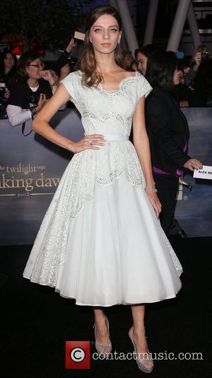 Angela Sarafyan The premiere of 'The Twilight Saga: Breaking Dawn - Part 2' at Nokia Theatre L.A. Live  Los...