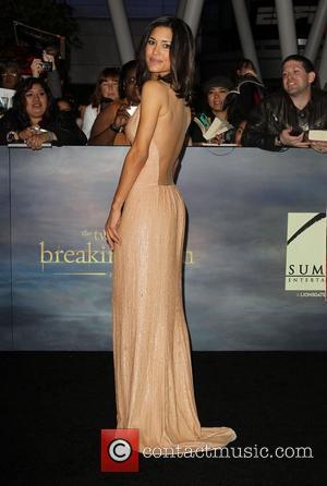 Julia Jones  at the premiere of 'The Twilight Saga: Breaking Dawn - Part 2' at Nokia Theatre L.A. Live....