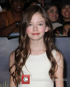 Mackenzie Foy  at the premiere of 'The Twilight Saga: Breaking Dawn - Part 2' at Nokia Theatre L.A. Live....