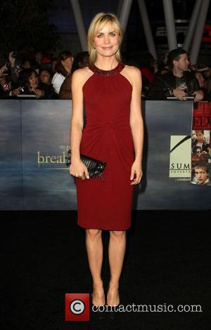 Radha Mitchell  at the premiere of 'The Twilight Saga: Breaking Dawn - Part 2' at Nokia Theatre L.A. Live....