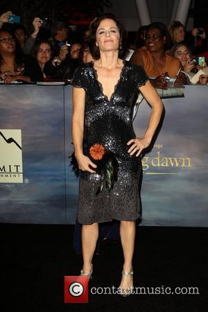 Sarah Clarke  at the premiere of 'The Twilight Saga: Breaking Dawn - Part 2' at Nokia Theatre L.A. Live....