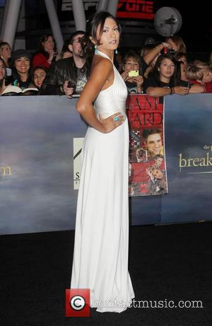 Tinsel Korey  at the premiere of 'The Twilight Saga: Breaking Dawn - Part 2' at Nokia Theatre L.A. Live....