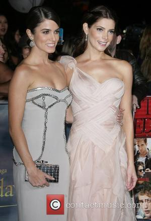 Nikki Reed and Ashley Greene