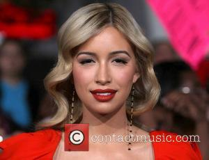 Christian Serratos  The premiere of 'The Twilight Saga: Breaking Dawn - Part 2' at Nokia Theatre L.A. Live -...