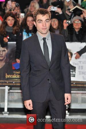 Robert Pattinson London Breaking Dawn - Part 2 Premiere