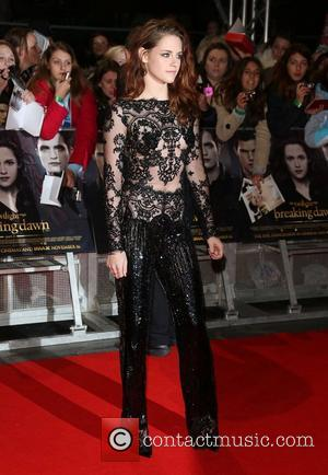 Kristen Stewart The Twilight Saga Breaking Dawn Part 2 UK premiere, London