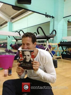 Brendan Cole posted this picture with Victoria Pendleton's autobiography during Strictly Come Dancing 2012 rehearsals on Twitter with the caption:...