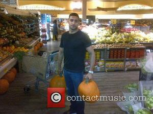 Amir Khan has posted this image on Lockerz.com with the caption 'Late night shopping. pumpkin shoppin aswel'  Copyright:...