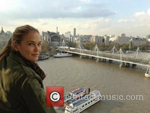 Bar Rafaeli posted this picture to Twitter.com with the caption, 'That's more like it' UK - 13.04.12 Twitter/Bar Rafaeli/WENN Supplied...