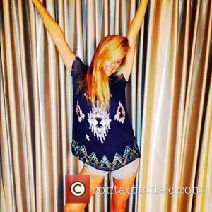 Bar Refaeli posted this image of herself to Instagram with the caption 'Shabbat shalom all!'