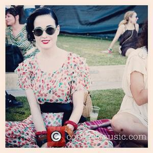 Dita Von Teese and Coachella