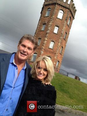 David Hasselhoff Visits School In Wales