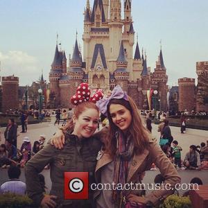 Jessica Alba and Disneyland
