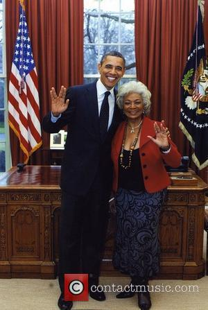 Star Trek, Barack Obama and Nichelle Nichols
