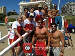 David Hasselhoff, Twitter, Hanging, Mar Del Plata and Beautiful