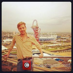 Ricky Wilson  posted this picture on Twitter with the caption 'Guys! Can I go home now?'