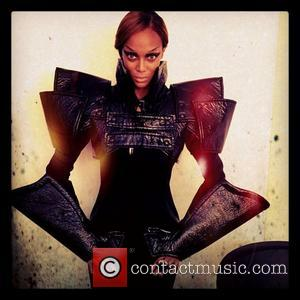 Tyra Banks posted this image on Instagram with the caption 'Get suited up for Monday! Remember: U R braver than...