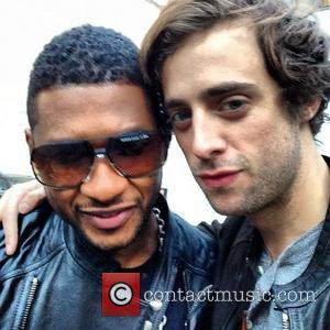 Usher has posted this image on Instagram with the caption 'Me and my man @sebastianbeacon. Just another day in my...