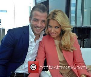 Sylvie van der Vaart posted this image of her with Rafael van der Vaart on Twitter with the caption: Big...