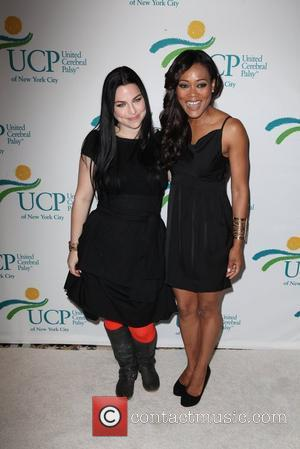 Amy Lee and Robin Givens