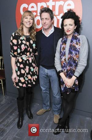 Sarah Cox, Annie Mac and Hugh Grant