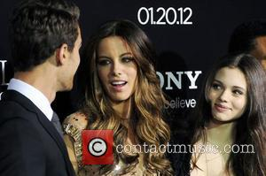 Theo James, India Eisley, Kate Beckinsale and Grauman's Chinese Theatre