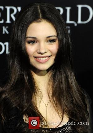 India Eisley and Grauman's Chinese Theatre